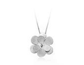 Pingente Flor Menor com Diamante 1