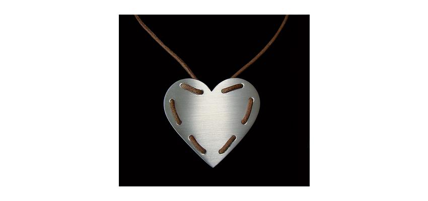 Pingente Coração Valente